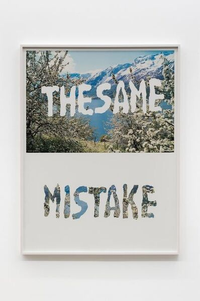 Mitchell Syrop, 'The Same Mistake', 1998