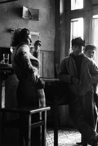 Fred Maroon, 'Girl in Bar, Antwerp September 17, 1951', 1950