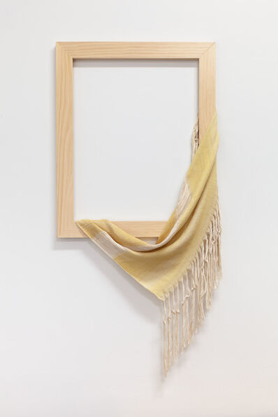 Frances Trombly, 'Weaving (Weld drape)', 2020