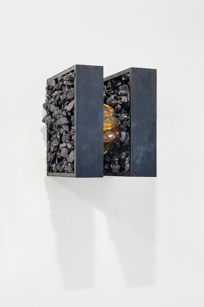 Tunga, 'Untitled (double case with ambar #1)', ca. 2008