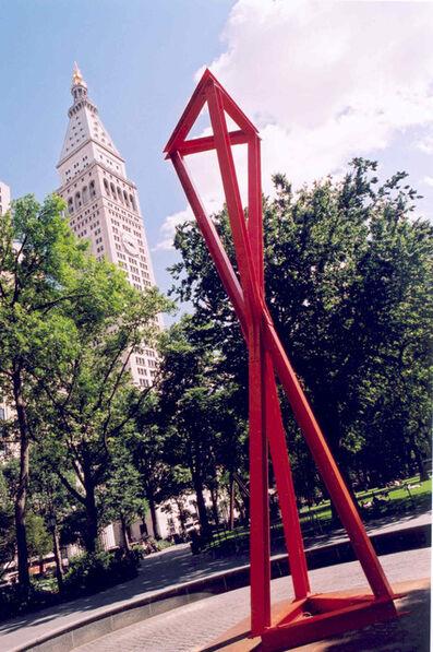 Mark di Suvero, 'Double Tetrahedron', 2004