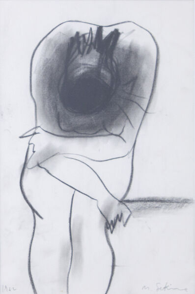 Nobuo Sekine, 'Study(Nude)', 1962