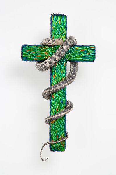 Jan Fabre, 'Cross With Snake', 2012