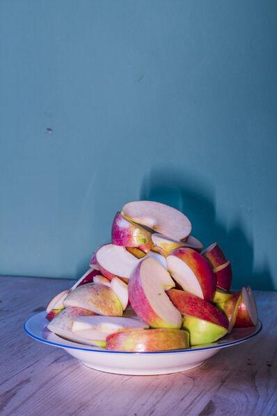 Peter Puklus, '2421 Sliced apples', 2015