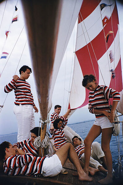 Slim Aarons, 'Adriatic Sailors', 1956