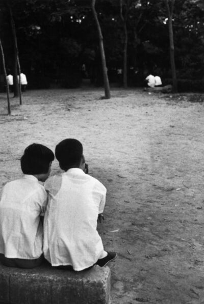 Marc Riboud, 'Couples in a park. Beijing, China.', 1971