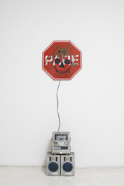 Mike Kelley, 'Singing Stop Sign', 1997