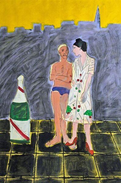 Joan Brown, 'Mary Julia and David', 1976