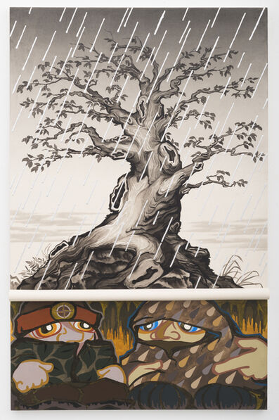 Greg Parma Smith, 'Lumpen Underground (w/ silver rain)', 2015