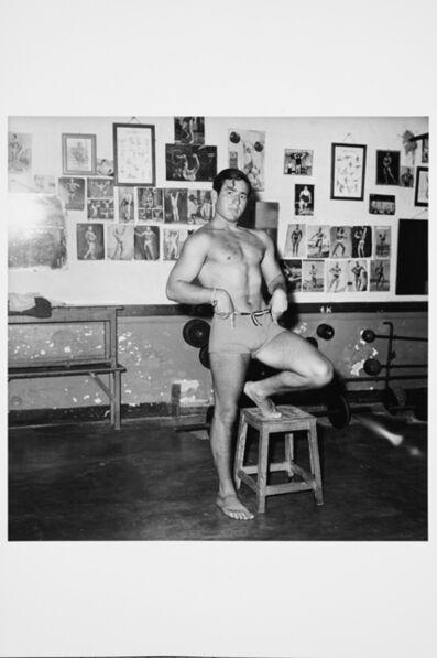 Karlheinz Weinberger, 'Weightlifter, Italie', 1959