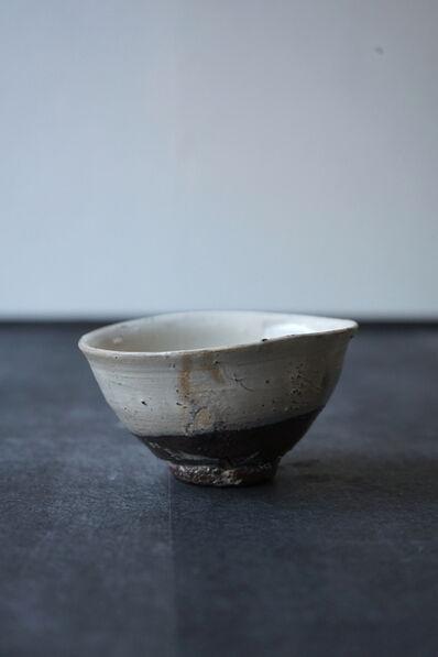 """Shiro Tsujimura, 'Tea Bowl """"Kohiki Style""""'"""