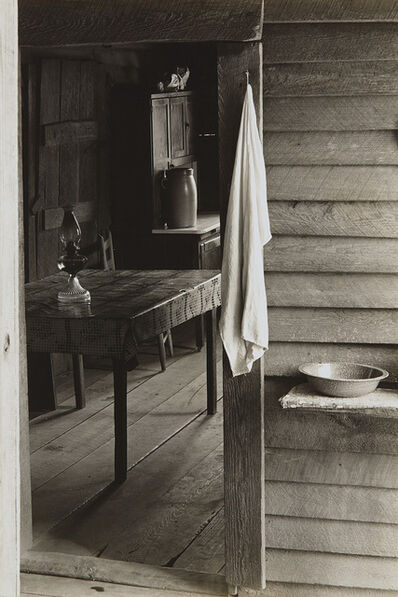 Walker Evans, 'Washroom and Dining Area of Floyd Burroughs' Home', 1936