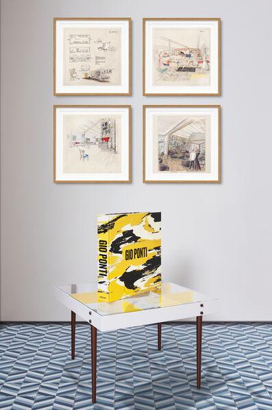 Gio Ponti, 'Gio Ponti, Art Edition. The Planchart Coffee Table and a set of four Art Prints', 2021