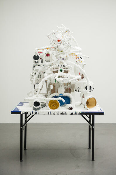 Teppei Kaneuji, 'White Discharge (Built-up Objects #36)', 2014
