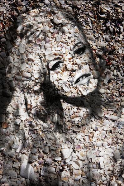 Isack Kousnsky, 'Brigitte Bardot Portrait of Shells ', 2015