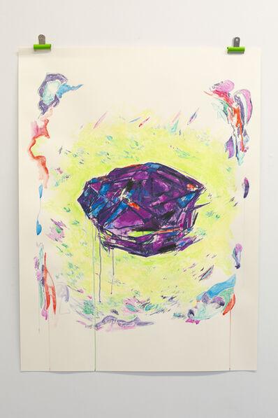 Laura Fitzgerald, 'Fossilised Milk Tray', 2020