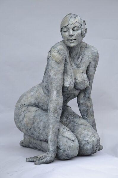 Elisabeth Cibot, 'Nat Knelled nude women', 2006