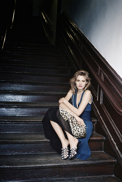 Sophie Elgort, 'Paige in the Stairwell', 2016