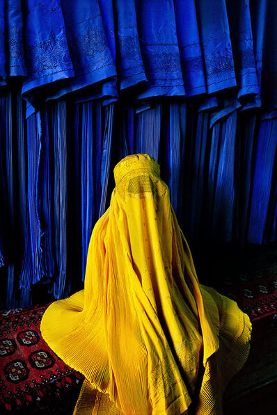 Steve McCurry, 'Woman in Canary Burqa, Kabul, Afghanistan', 2002
