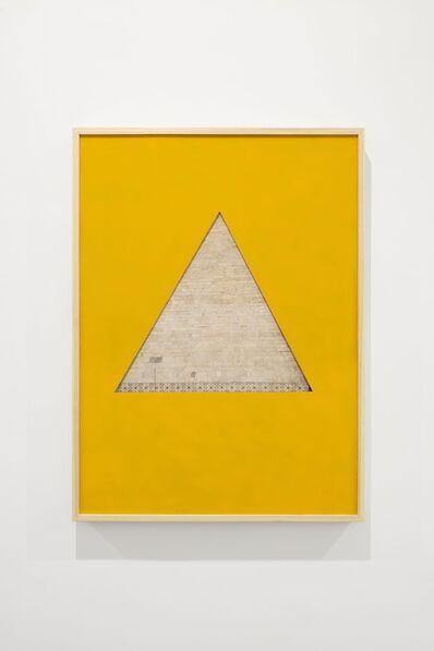Giuseppe De Mattia, 'Piramide/Triangolo, Roma-Bologna ', 2017