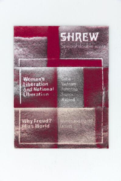 Mary Kelly, 'Shrew, December, 1970', 2017