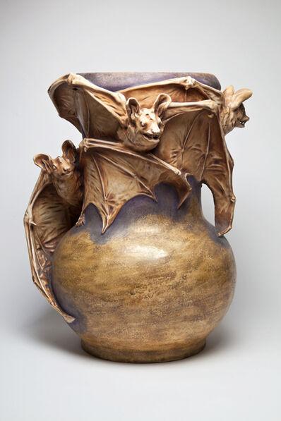 Amphora, 'Bat Planter ', 1901