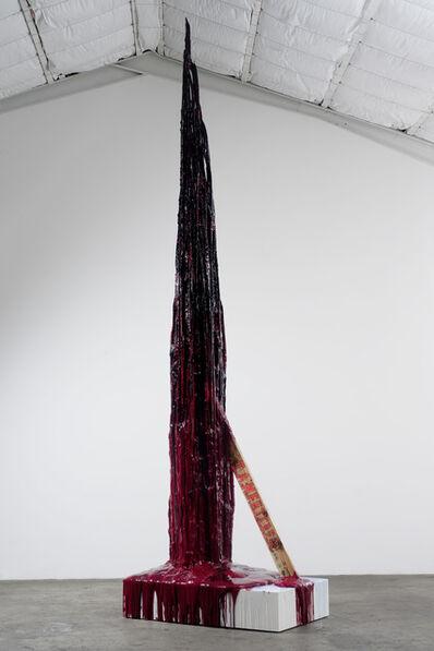 Sterling Ruby, 'Monument Stalagmite/I.A.N.F.B.I.C.B.E.A.', 2011