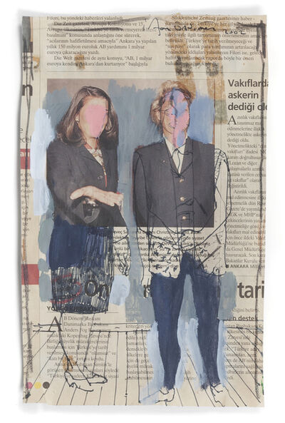 Irfan Önürmen, 'Newspaper Series 15'