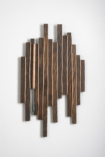 Betty McGeehan, 'Minimal Wood Abstract Sculpture: 'Spectrum'', 2015-18