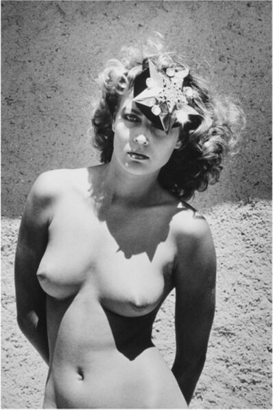 Helmut Newton, 'Just a hat', pre-1985