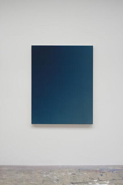 Oliver Marsden, 'Fade XI (Indigo Blue Turquoise)', 2014