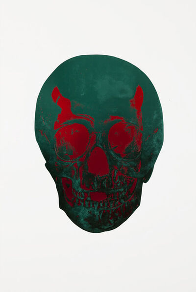 Damien Hirst, 'The Sick Dead: Racing Green/Chilli Red', 2014