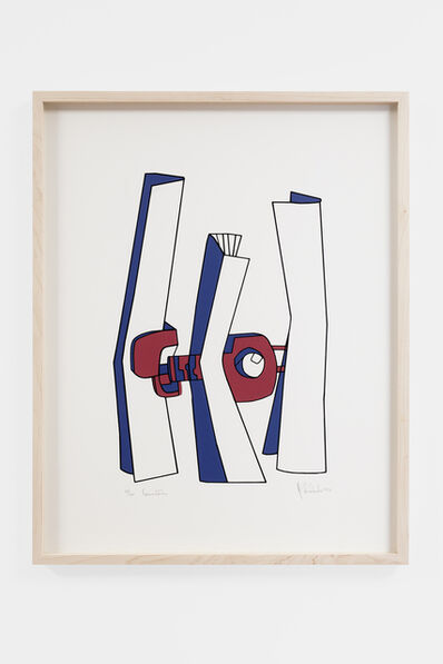 Helen Escobedo, 'Conectores', 1974