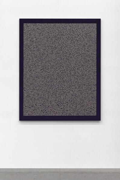 Jorge Méndez Blake, 'Desmantelando a Gorostiza (Poema Frustado) III', 2018
