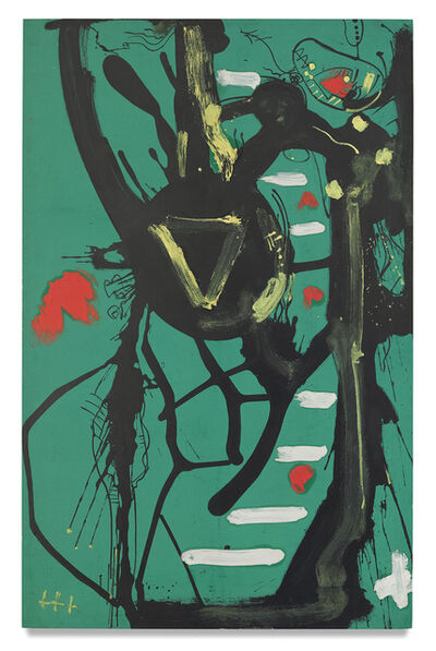 Hans Hofmann, 'Black Form', 1946