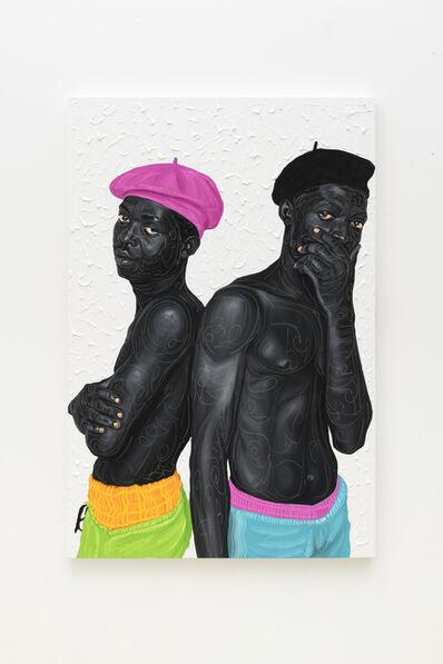 Otis Kwame Kye Quaicoe, 'Beret Boys 2', 2021