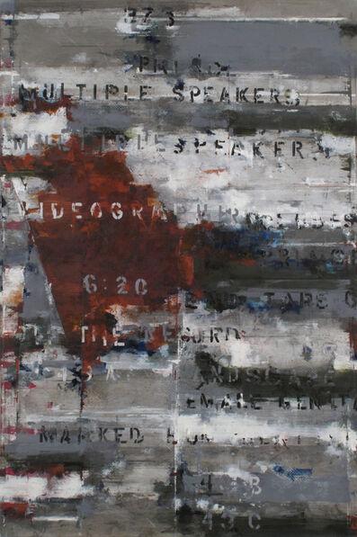 Brian Dupont, 'Transcript 6', 2015