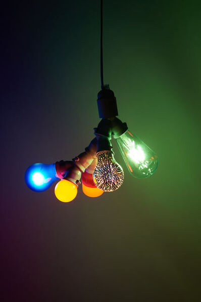 Svend Sømod, 'Bifiguration lamp 3', 2020