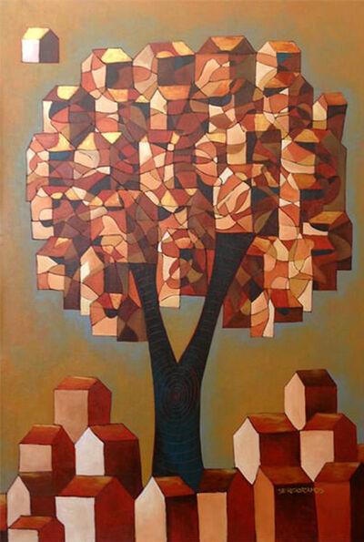 Sergio Ramos, 'Árvore construção   |   Construction Tree ', 20019