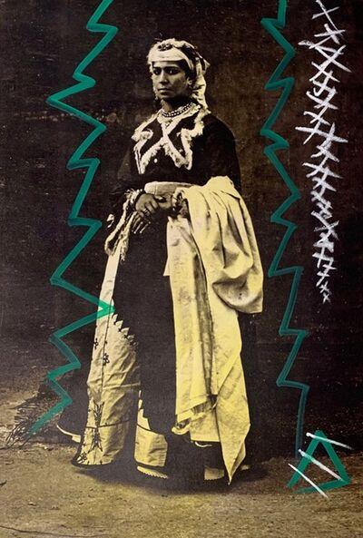 Firouz Farmanfarmaian, 'Portrait of Berber Woman', 2019