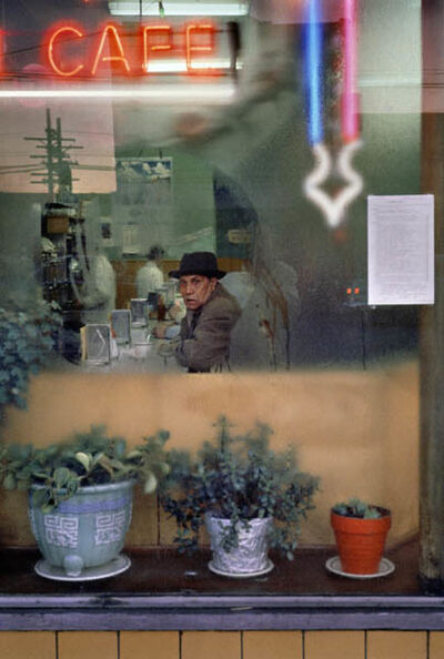 Fred Herzog, 'Cafe, Main', 1960