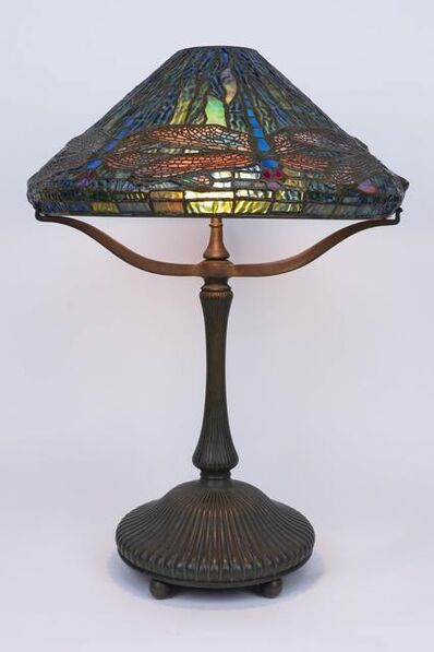 Tiffany Studios, 'Bronze Dragonfly Table Lamp (16 inch)'