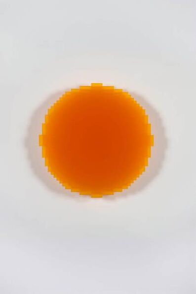 Johannes Girardoni, 'Resonant Yellow Orange 1/3', 2017