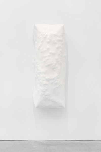 Angela de la Cruz, 'Bloated 5 (Off-White)', 2012