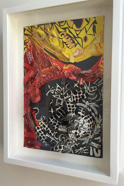Lisa Hoke, 'Black and Yellow and Red All Over', 2018