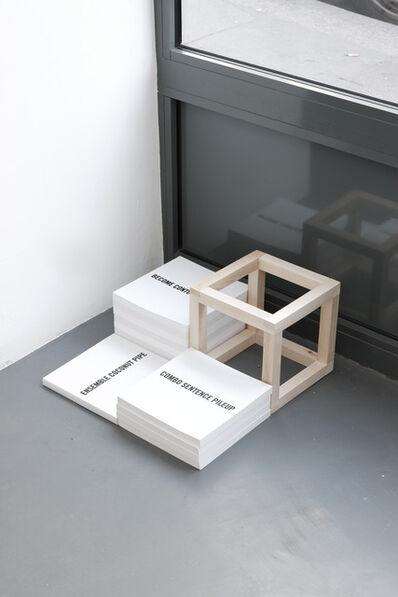 Derek Sullivan, 'Incomplete and Open', 2012