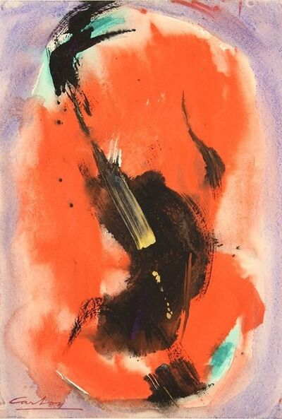Norman Carton, 'Midnight Flame (No. 2375)', 1960
