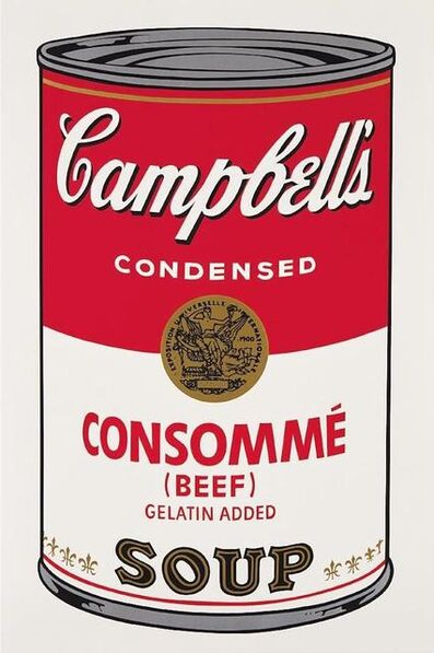 Andy Warhol, 'Consomme Beef Soup', 1968