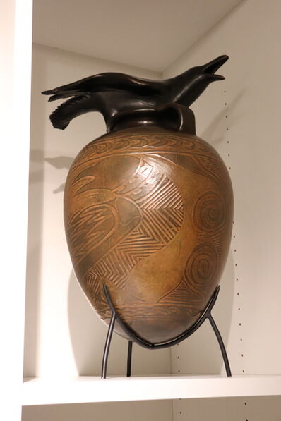 William Morris, 'Raven Jar', 2003