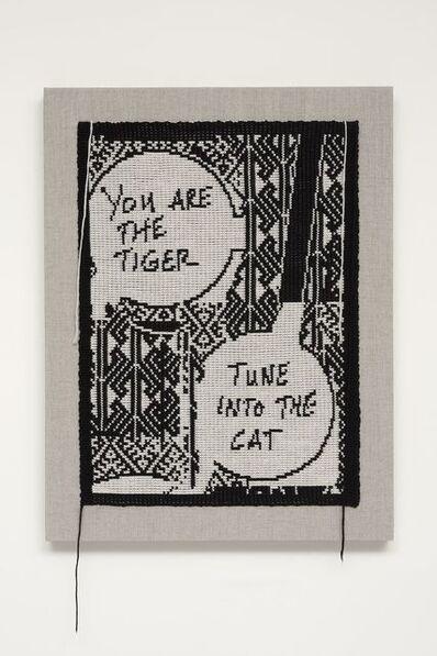 Lisa Anne Auerbach, 'Tune into the Cat (Negative)', 2014